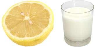 lemon and milk for hemorrhoids