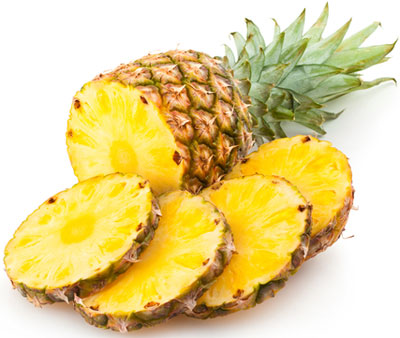 pineapple-skin-brightening-juice
