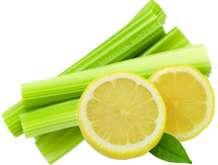 celery-and-lemon-for-refreshing-and-high-energy