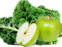 kale-and-green-apple-for-anti-aging